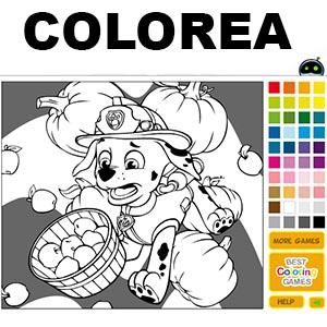 Juegos para colorear de La Patrulla Canina