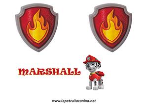 ESCUDO MARSHALL