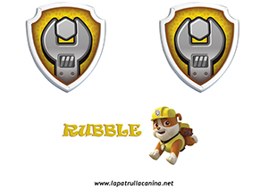 ESCUDO RUBBLE