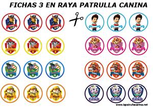 FICHAS 3 EN RAYA