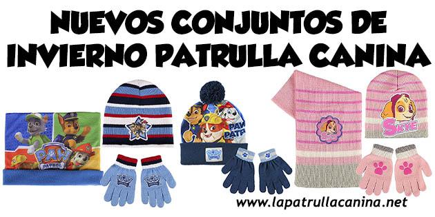 Gorro y guantes Patrulla Canina