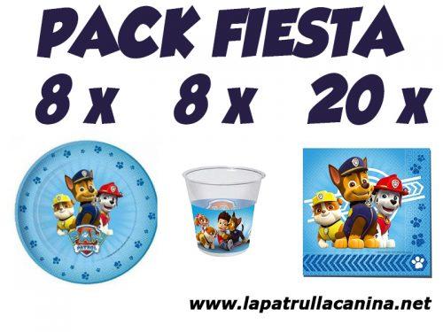 Pack fiestas Patrulla Canina