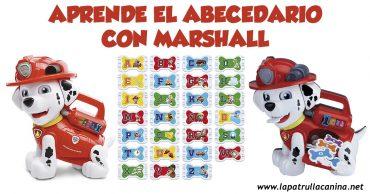 El abecedario de Marshall Patrulla Canina
