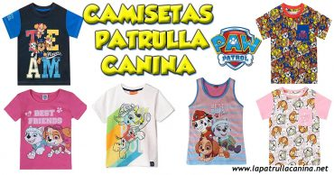 Camisetas Patrulla Canina
