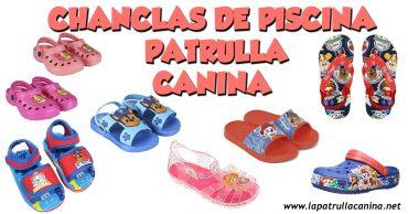Chanclas de piscina Patrulla Canina