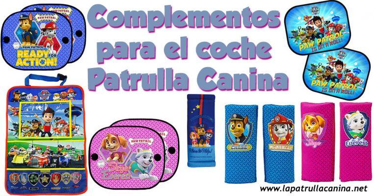 Complementos para Coche Patrulla Canina