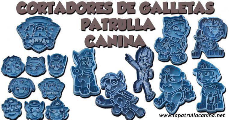 Cortadores de galletas de Patrulla Canina