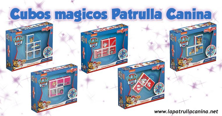 Cubos mágicos de Patrulla Canina