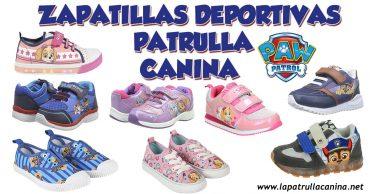 Zapatillas deportivas Patrulla Canina