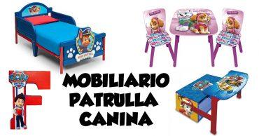 Mobiliario infantil de La Patrulla Canina