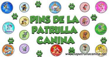 Haz tus propios Pins de La Patrulla Canina