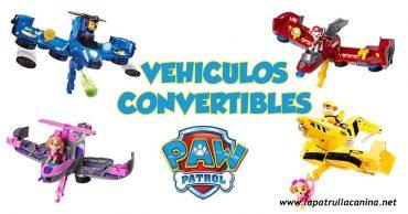 Vehículos convertibles Patrulla Canina