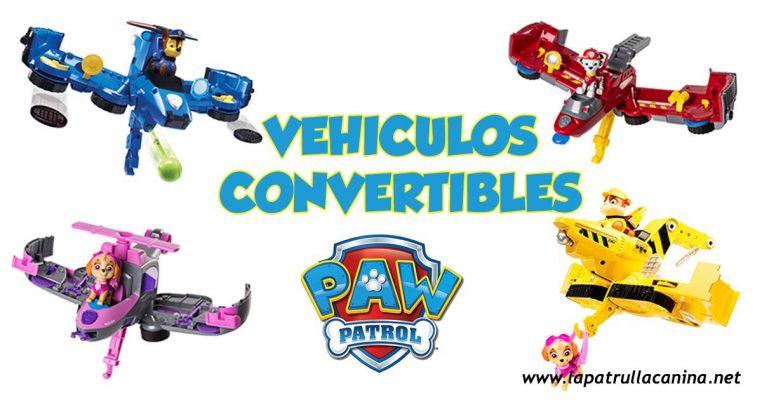 Vehiculos convertibles patrulla canina