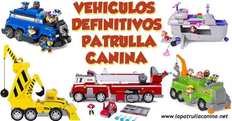 Vehiculos Definitivos de Patrulla Canina
