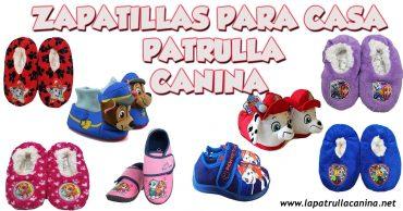 Zapatillas para casa Patrulla Canina