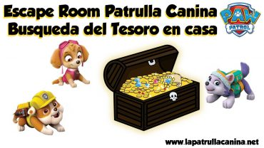 Escape room Patrulla Canina
