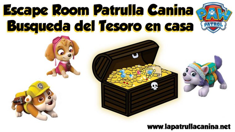 Escape room Patrulla Canina