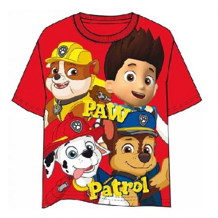 Camiseta Patrulla Canina roja