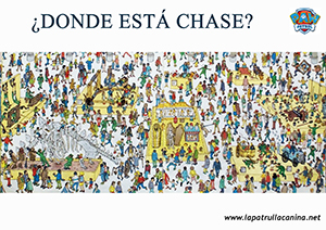 encuentra a chase