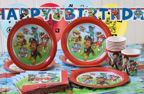 Fiestas infantiles de la patrulla canina - Decoracion de la patrulla canina ...