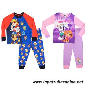 Pijamas de invierno de Patrulla Canina