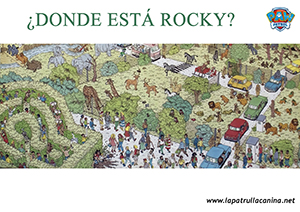 encuentra a rocky